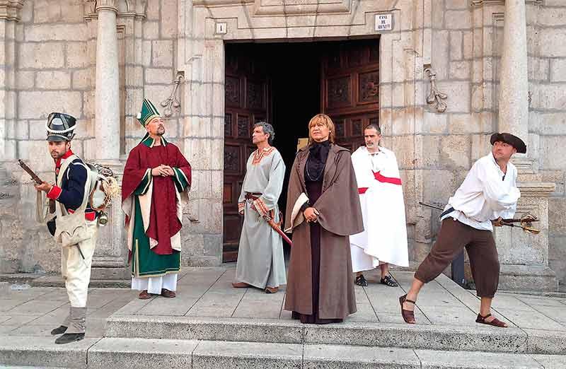 Visitas teatralizadas al casco antiguo de Ponferrada