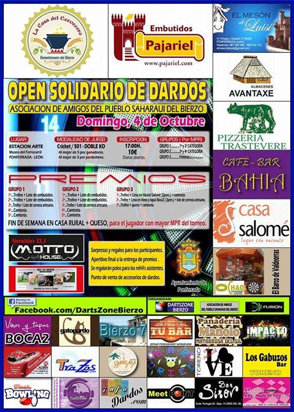 OPEN SOLIDARIO DE DARDOS en ESTACIÓN ARTE Museo del Ferrocarril