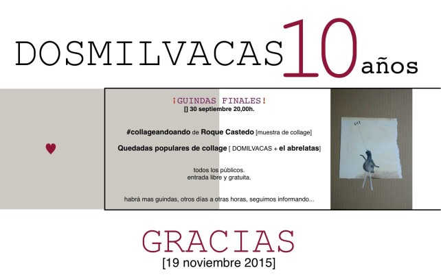 Exposición #collageandoando de Roque Castedo