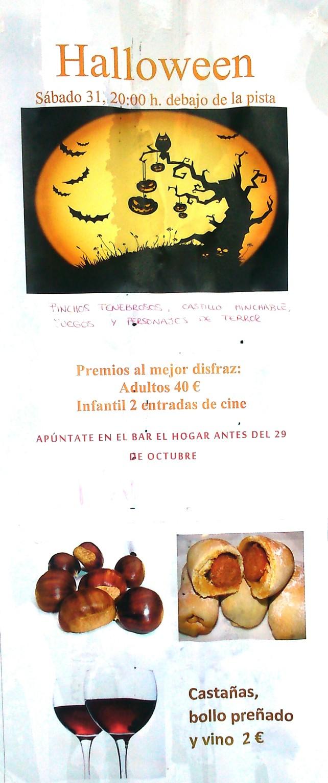 Fiesta Halloween + magosto
