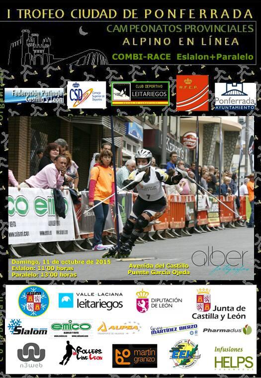 Campeonato provincial Alpino en línea. I trofeo ciudad de Ponferrada