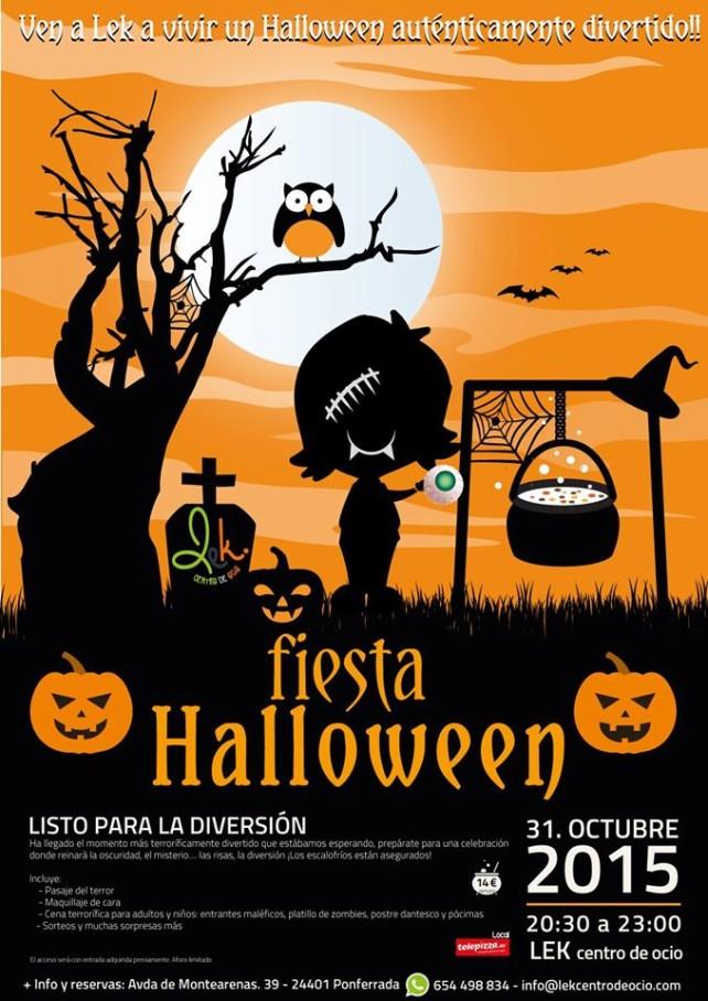 Fiesta Halloween en Lek