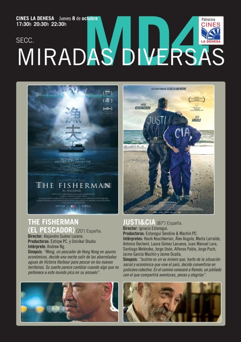 Festival de cine: Miradas diversas IV