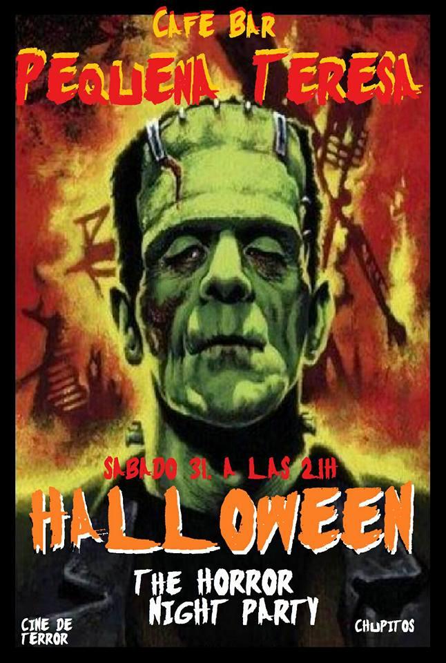 Fiesta Halloween en el Pequeña Teresa
