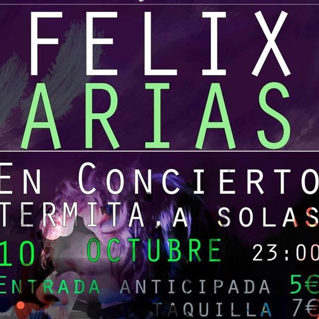 Concierto Félix Arias
