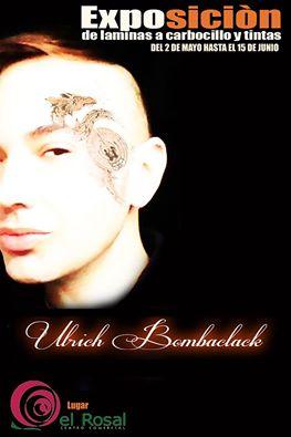 Exposición de láminas de carboncillos y tintas de Ulrich Bombaclack