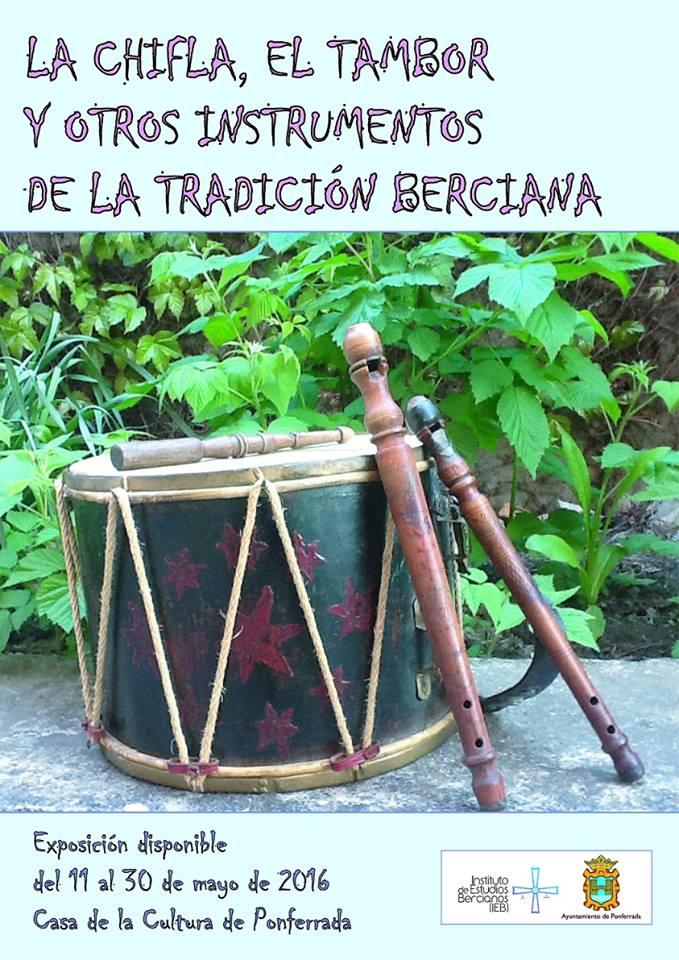 Exposición: La chifla, el tambor y otros instrumentos de la tradición berciana