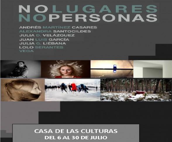 """Exposición """"No lugares.No personas"""""""