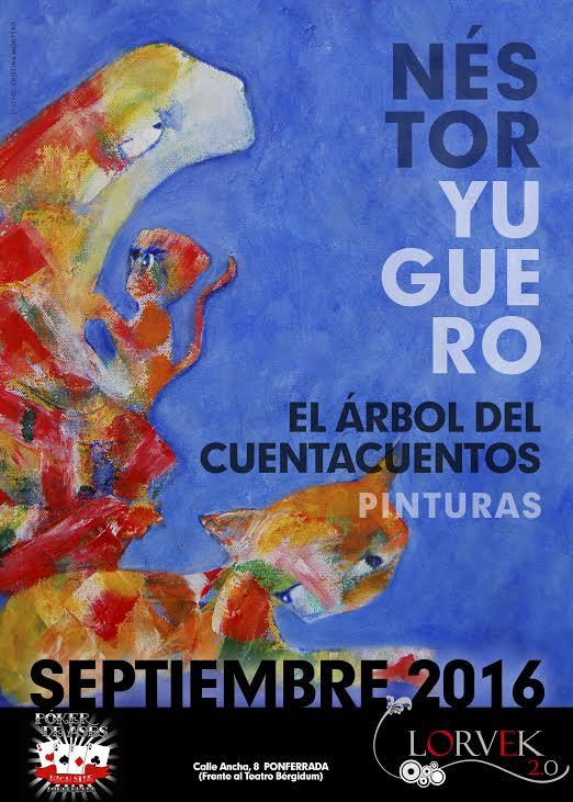 Exposición de pintura de Néstor Yuguero