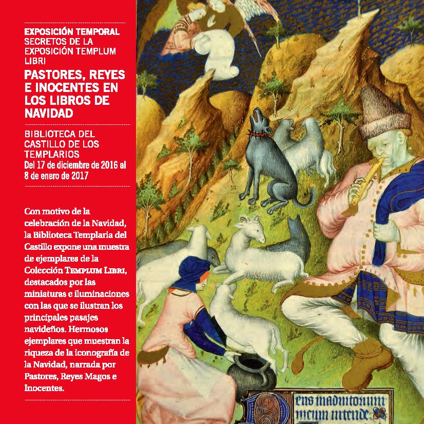 Exposición: Pastores, reyes e inocentes en los libros de navidad