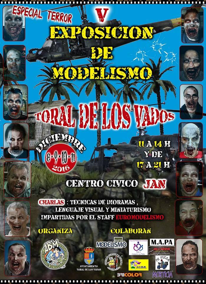 V Exposición de modelismo (EDICIÓN ESPECIAL TERROR):