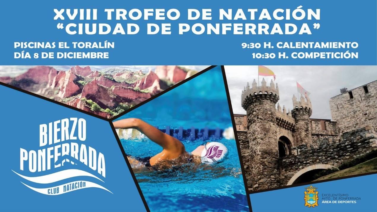 Xviii trofeo de nataci n ciudad de ponferrada for Piscinas ponferrada