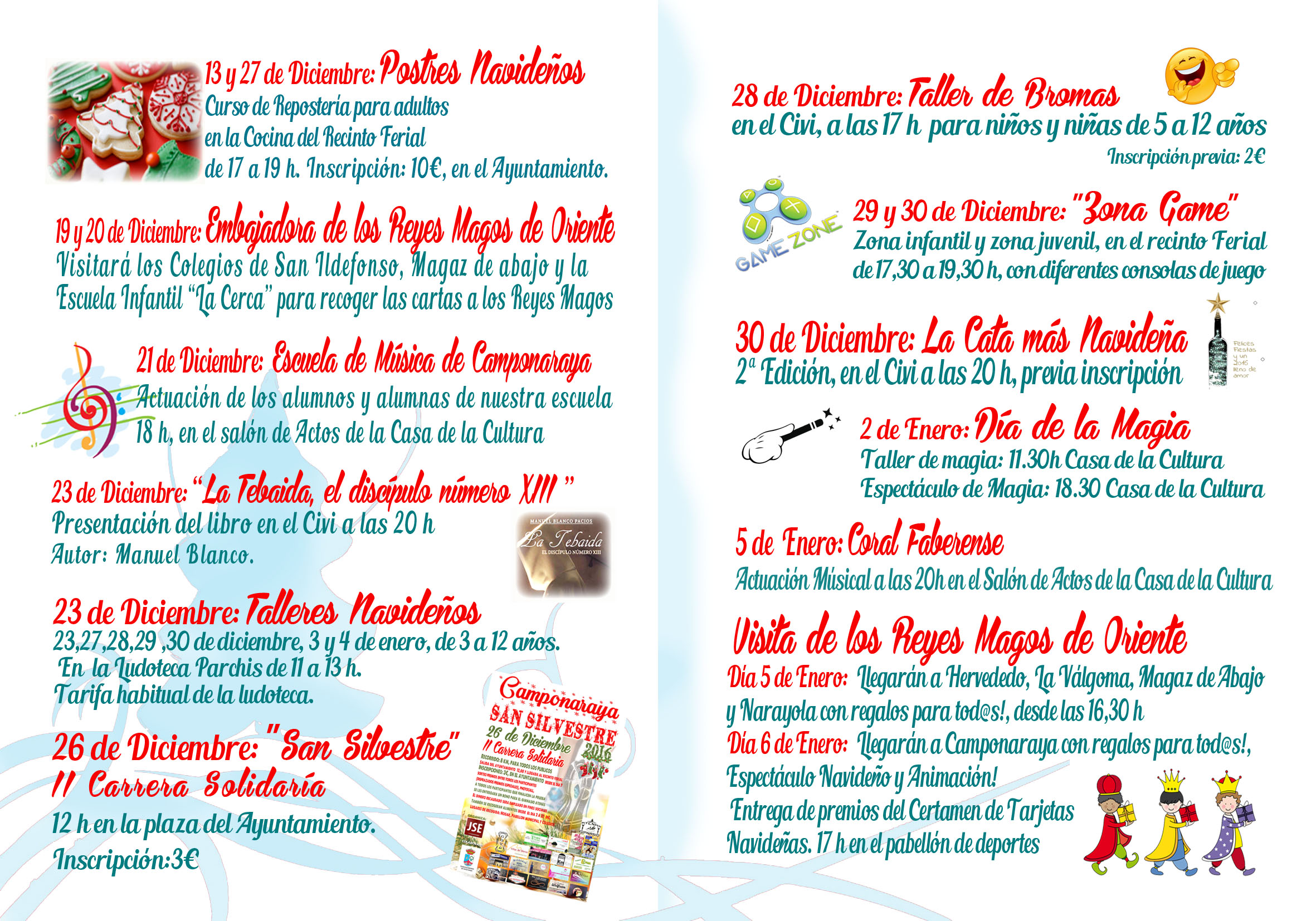 Camponaraya presenta las actividades de Navidad 2