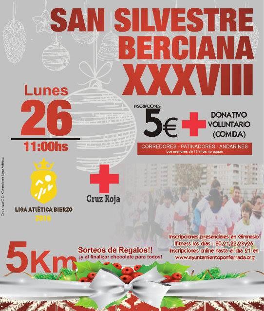Llega la XXXVIII San Silvestre berciana 2