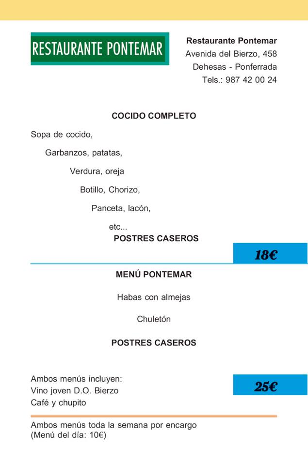 Jornadas Gastronómicas de Invierno del 17 de febrero al 26 de marzo. Consulta los menús 12