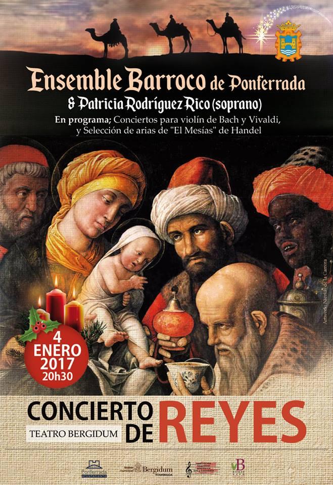 Concierto de Reyes con los bercianos Ensemble Barroco 2