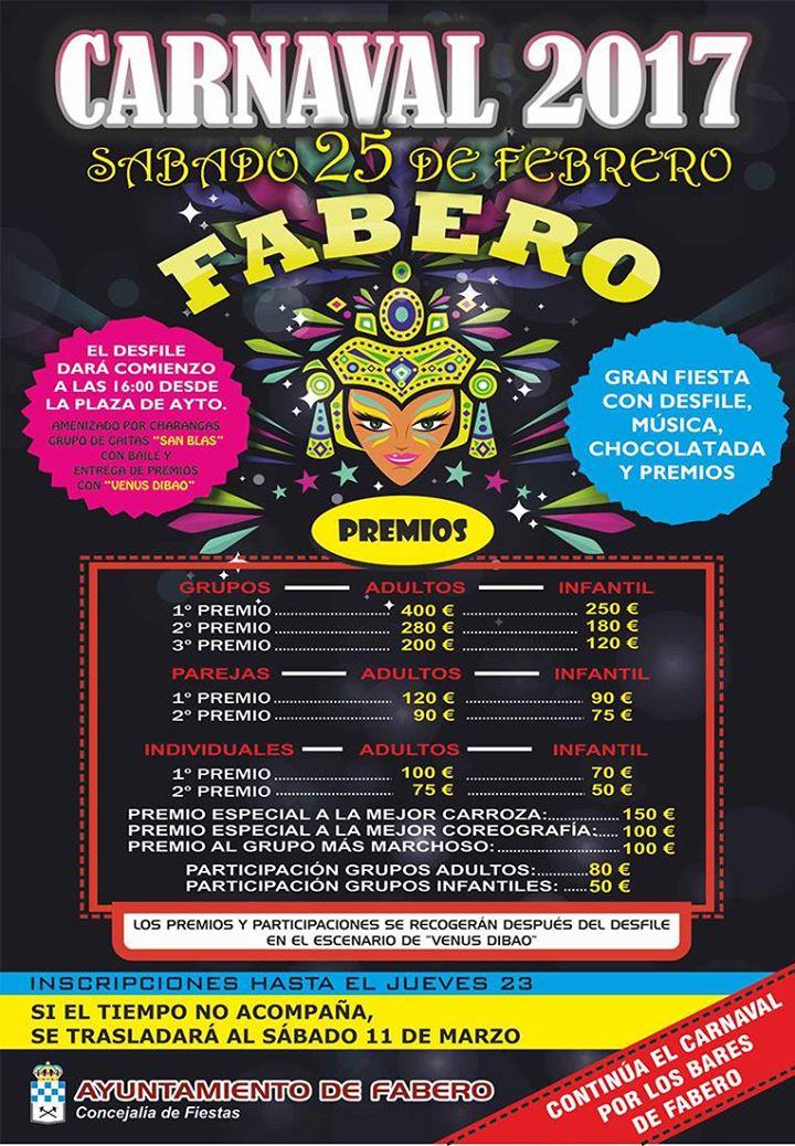 Carnaval 2017 en Fabero 2