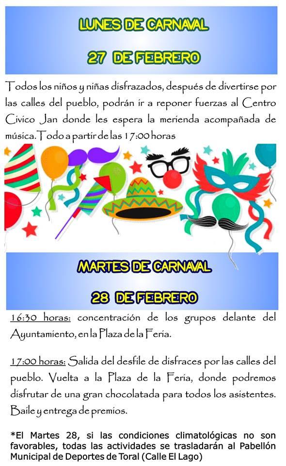 Carnaval 2017 en Toral de los Vados 3