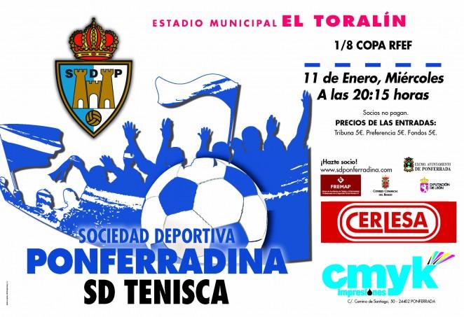 Fútbol Copa RFEF: SD Ponferradina - SD Tenisca 2