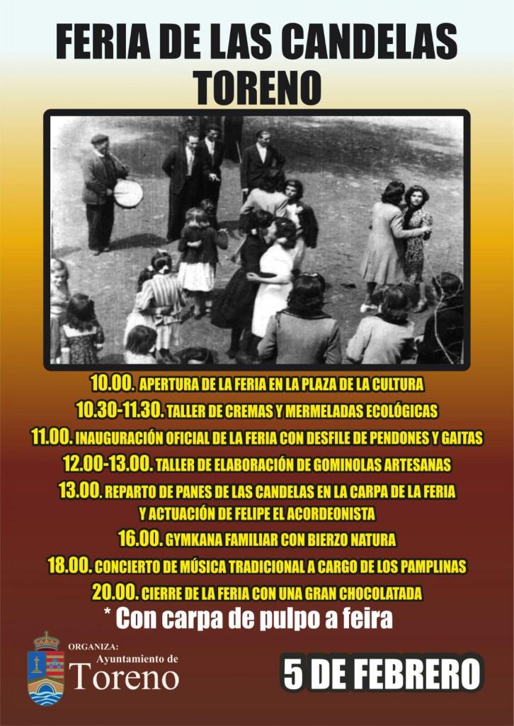 Toreno recupera la Feria de las Candelas el 5 de febrero 2