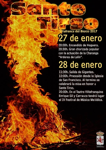 Villafranca del Bierzo celebra Santo Tirso 2017 este fin de semana 2