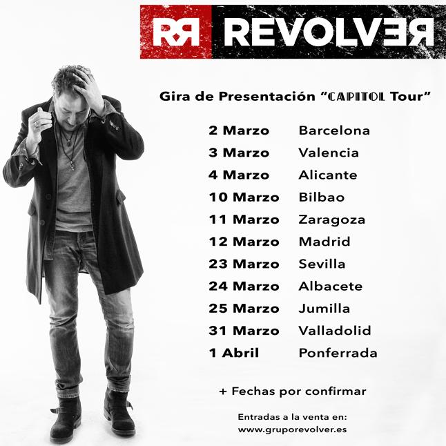 RevolveR vuelve con '#Capitol' su nuevo álbum y su gira recala en Ponferrada en abril 2