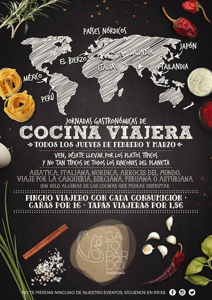Gatopardo presenta la 'Cocina viajera' pinchos de platos típicos regionales durante febrero y marzo 2