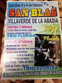 Fiestas de San Blas en Villaverde de la Abadía 2
