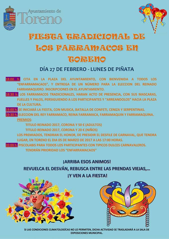 Toreno recupera la fiesta de 'Los Farramacos', el lunes de piñata 2