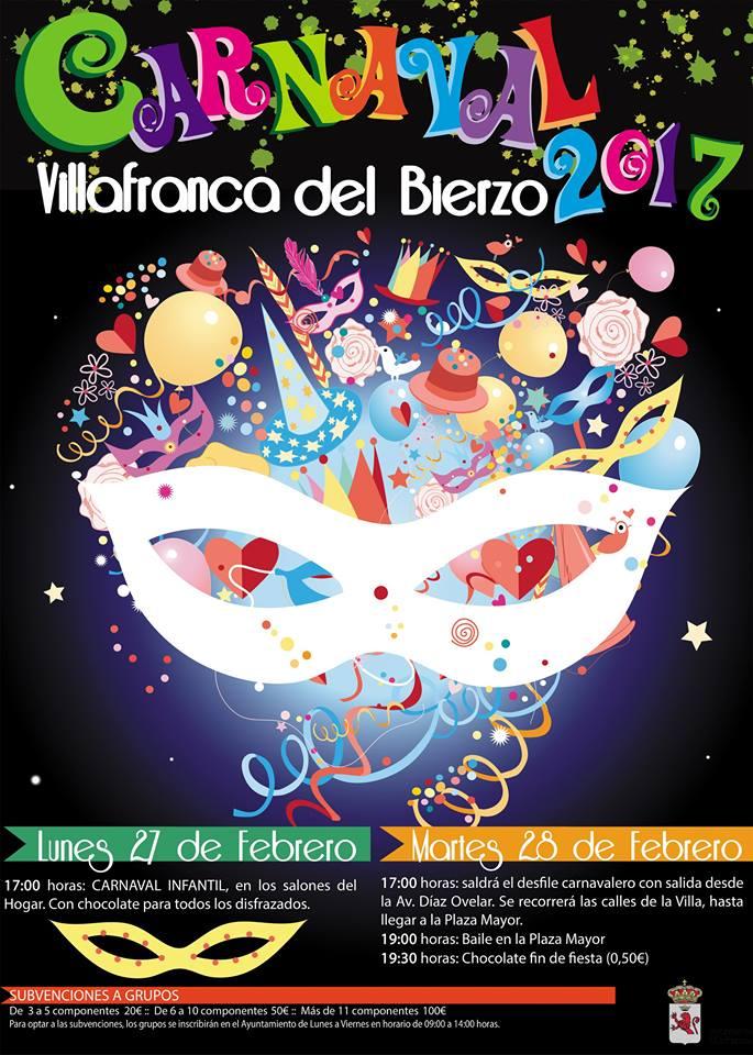 El carnaval también llega a Villafranca del Bierzo 2