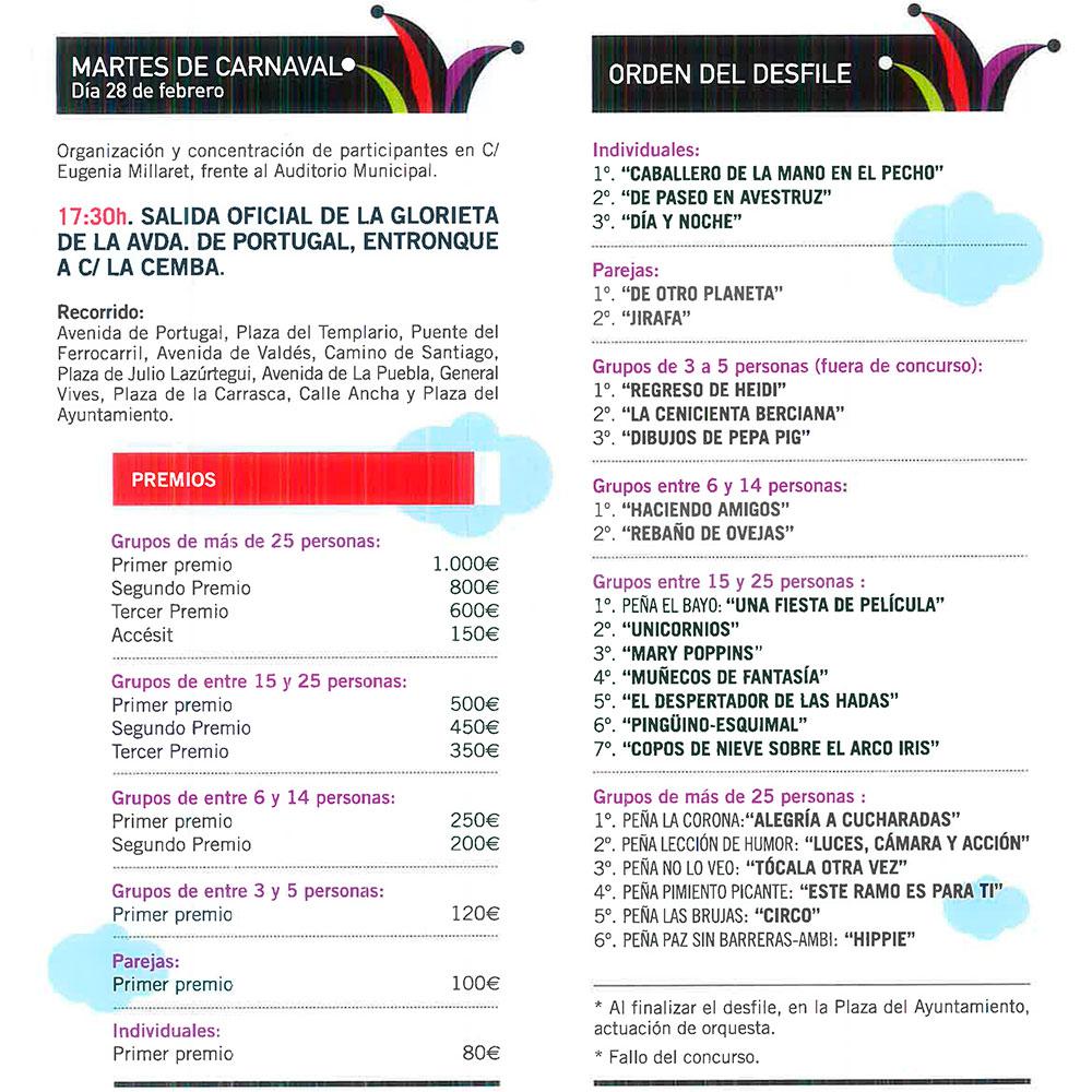 Planes en el El Bierzo para el fin de semana + Carnavales. 24 al 28 de febrero 13