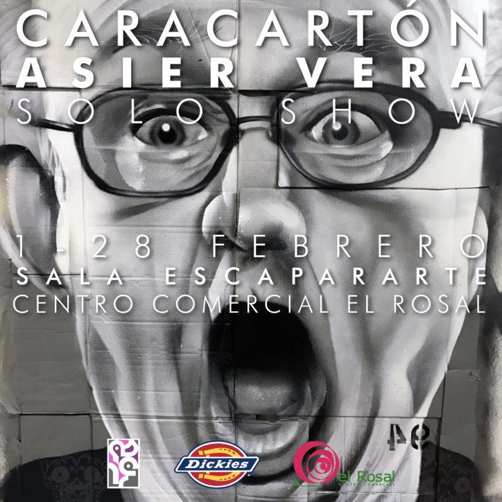 Caracartón, Exposicion de Asier Vera 2