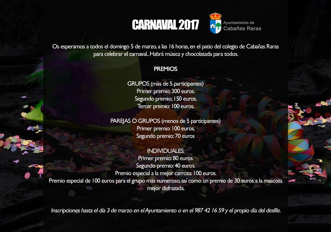 Carnaval 2017 en Cabañas Raras 2