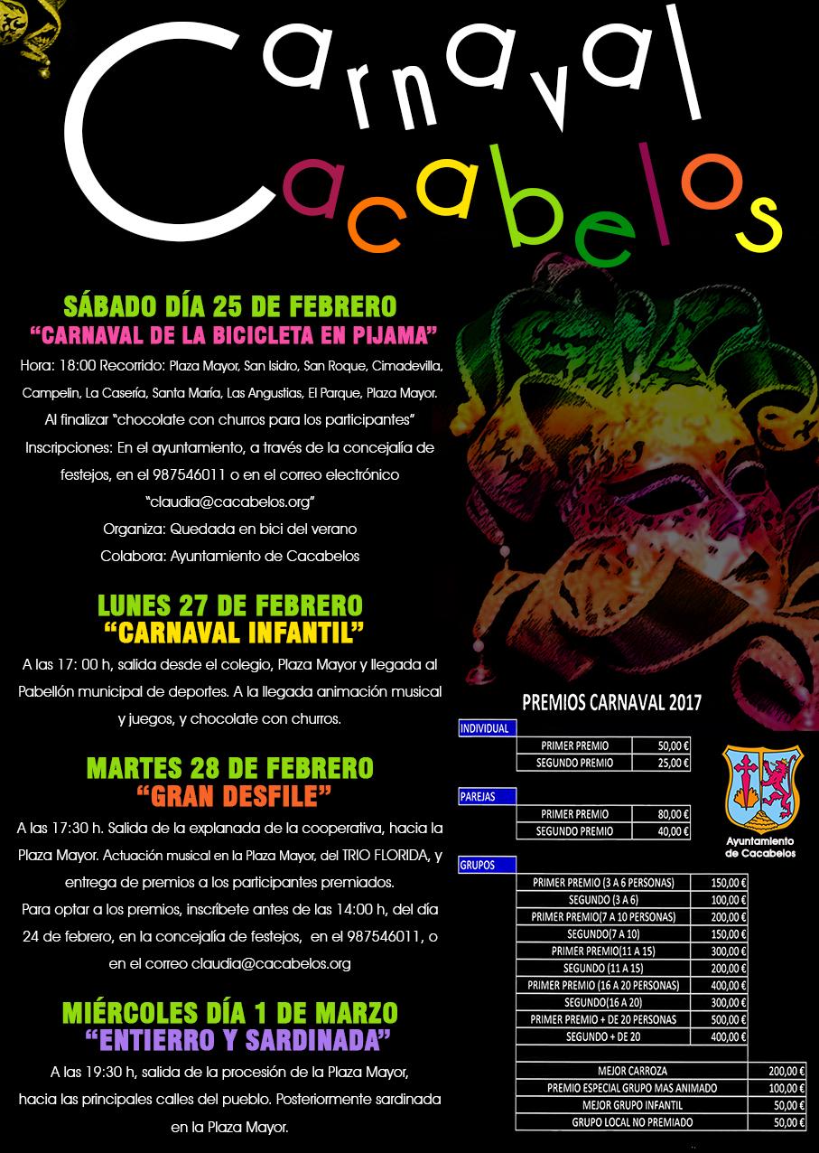 Así celebran el Carnaval 2017 en Cacabelos 2