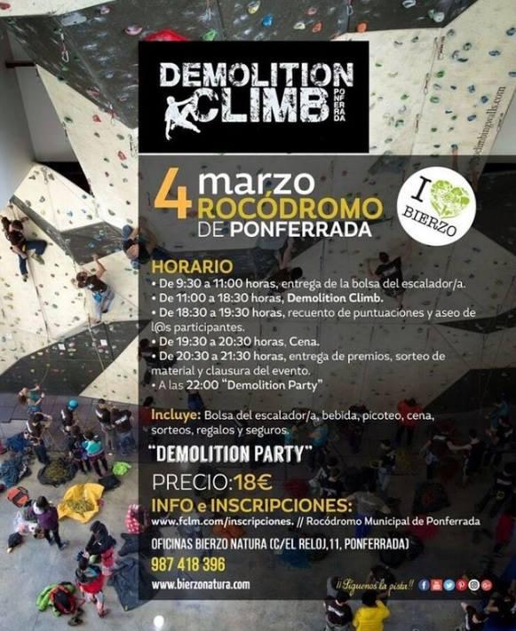 Llega Demolition Climb 2017 2