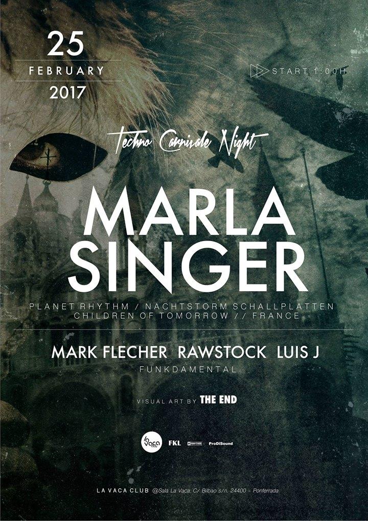 Carnaval a ritmo de techno en La Vaca con el DJ francés Marla Singer 2