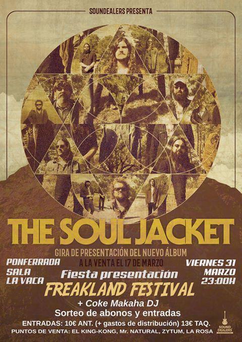 Fiesta presentación Freakland Festival con The Soul Jacket 2