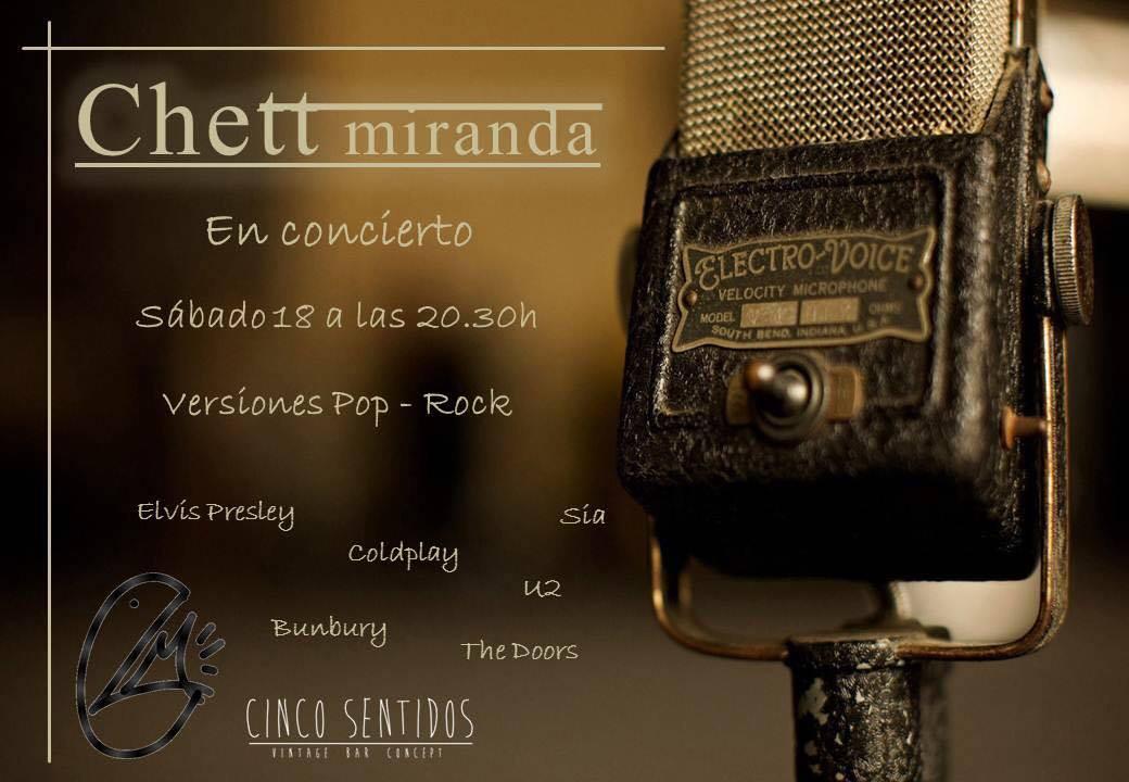 Concierto de Cheet Miranda en el Café Cinco Sentidos 2