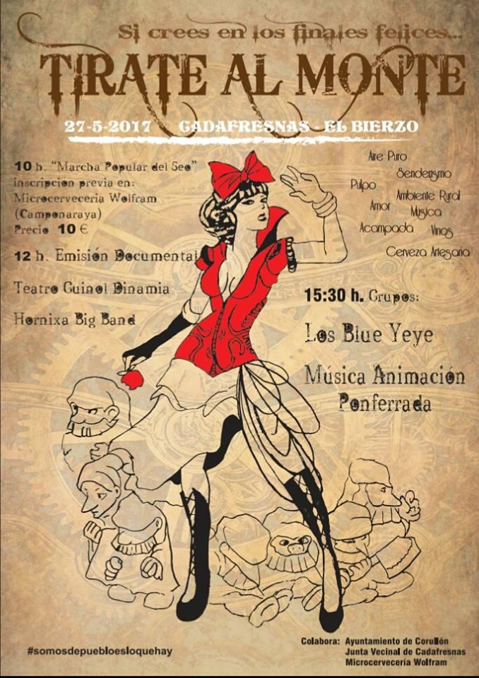 El festival 'Tírate al monte 2017 se realizará en Cadafresnas el próximo mes de mayo 2