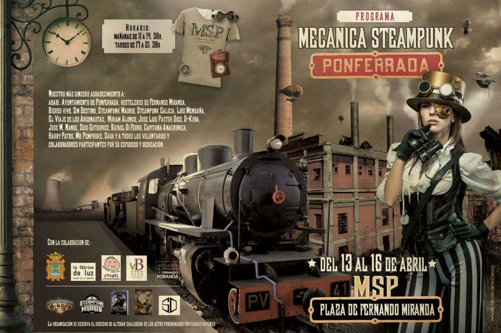 La otra Semana Santa ponferradina: Rockera, freak y steampunk 7