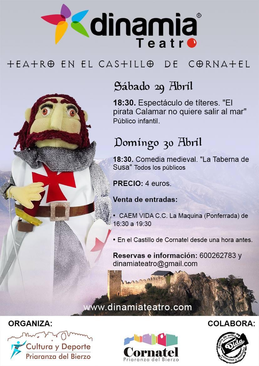 Teatro en el castillo de Cornatel 2