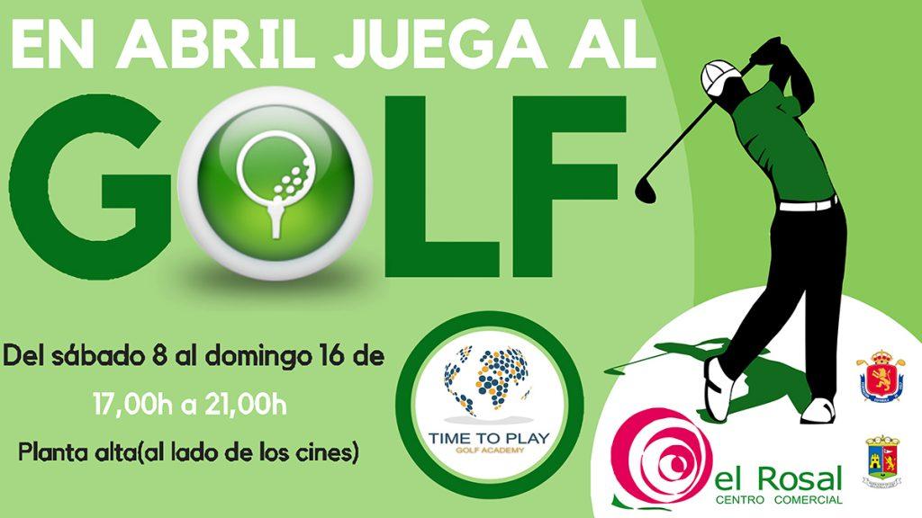 Juega al golf en el Centro Comercial El Rosal 2