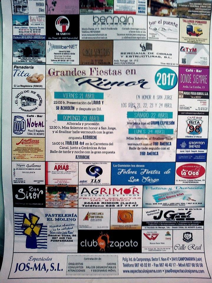 Fiestas de San Jorge en Rimor 2017 2
