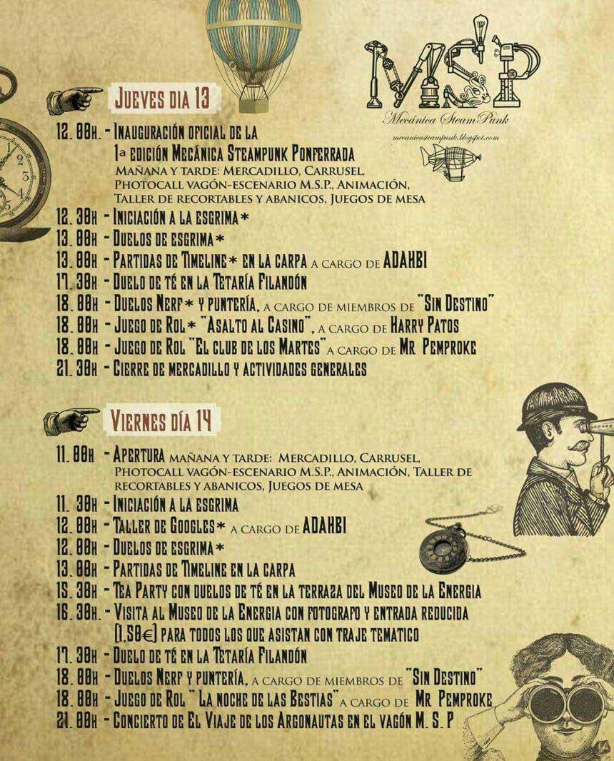 La otra Semana Santa ponferradina: Rockera, freak y steampunk 8