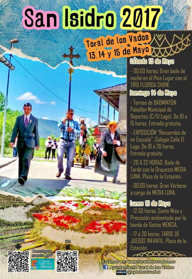 Fiestas en honor a San Isidro 2017 en Toral de los Vados 2