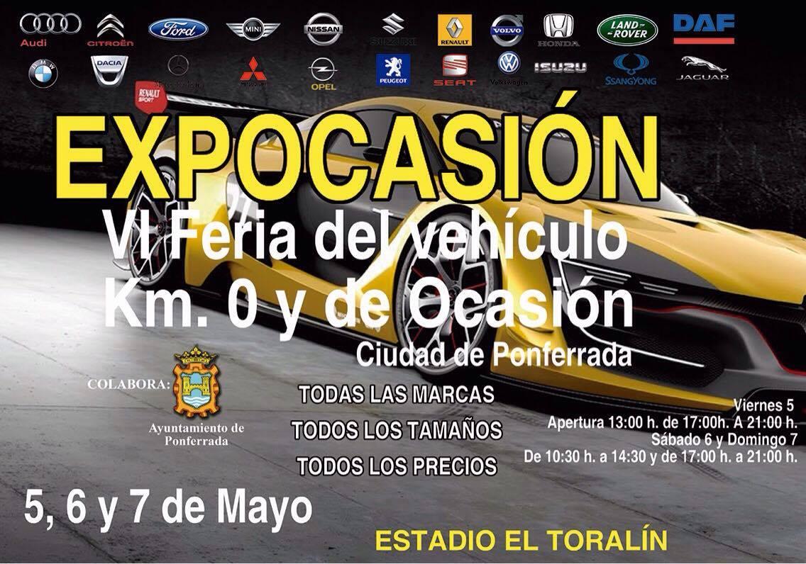 Expocasión, Feria del vehículo de ocasión Ciudad de Ponferrada 2