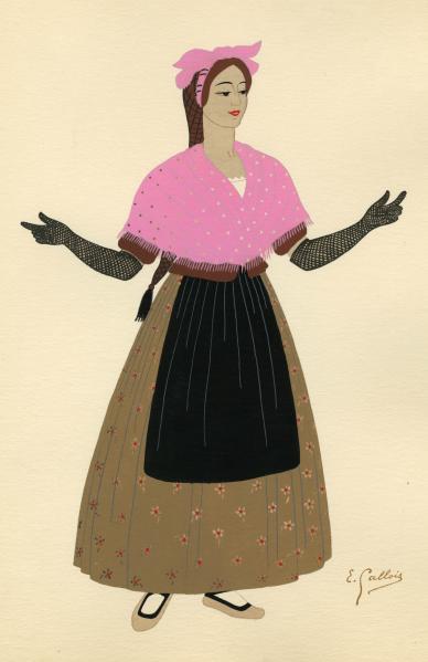 Historia de la moda en las colecciones de grabados españoles