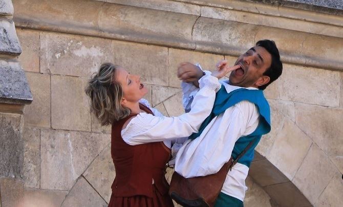 Teatro en Cubillos del Sil, producciones Zarabanda presenta: cómicos de paso 2