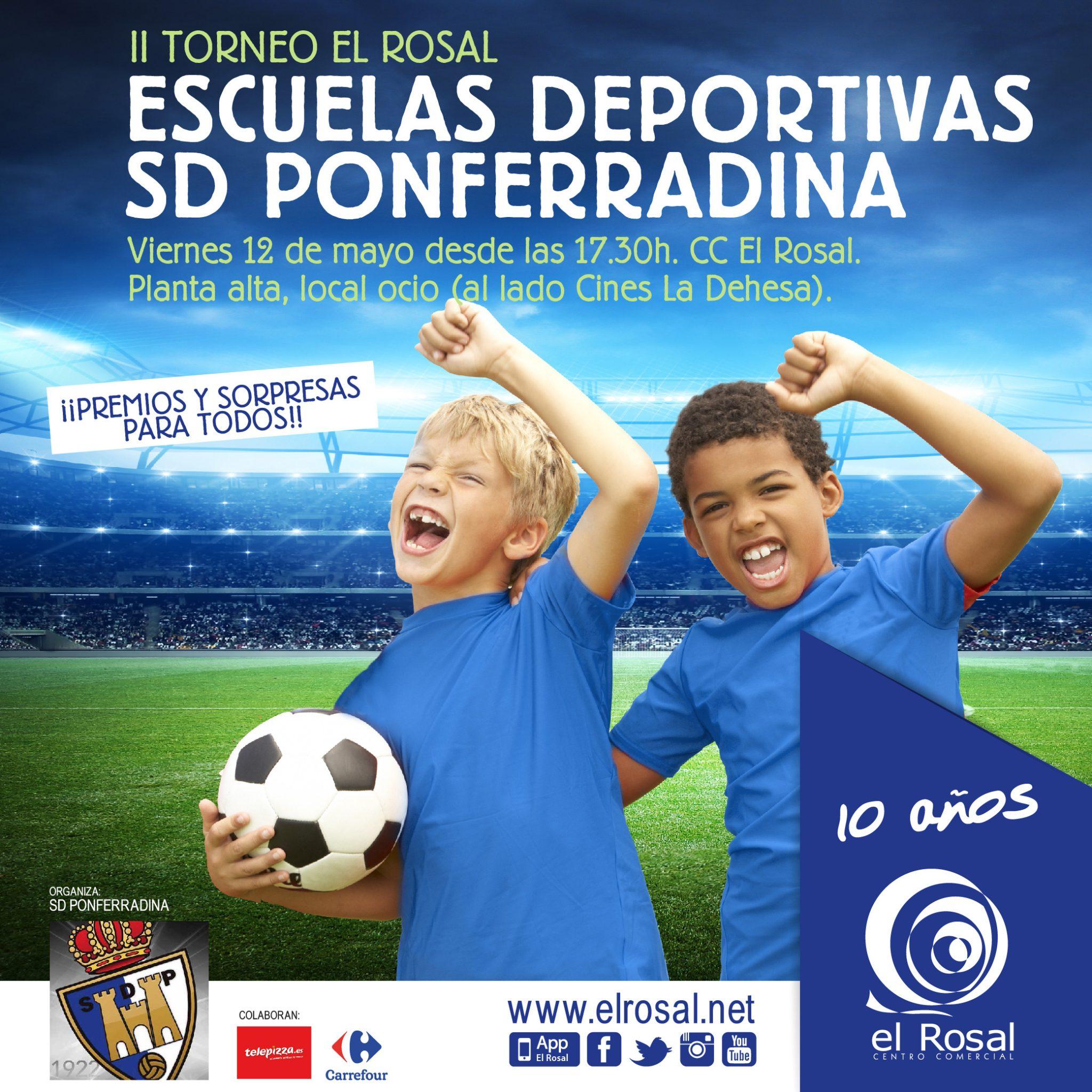 II Torneo El Rosal Escuelas Deportivas SD Ponferradina 2