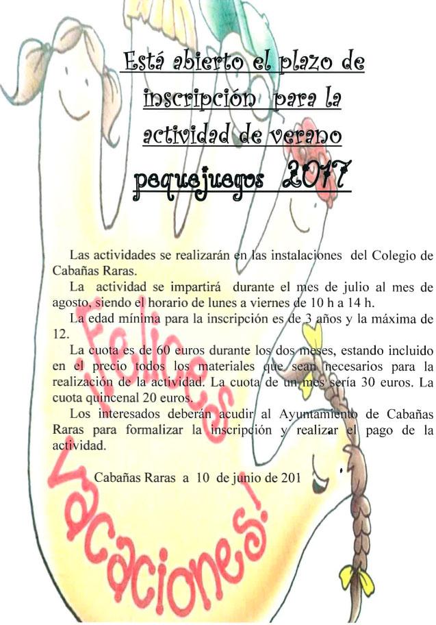 Cabañas Raras organiza su 'Pequejuegos 2017' 2